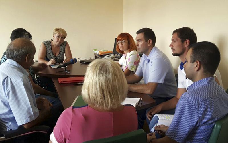 Фото: Встреча юристов Ассоциации с чиновниками ОГА