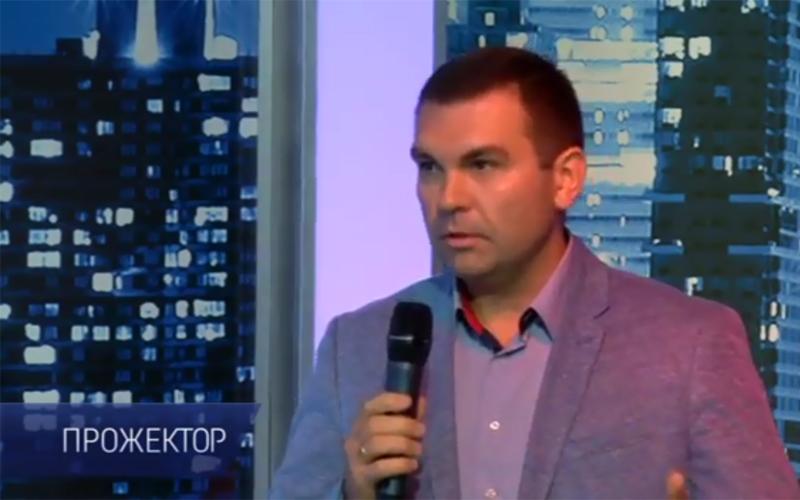 Фото: Игорь Зозуля на ток-шоу «Прожектор»