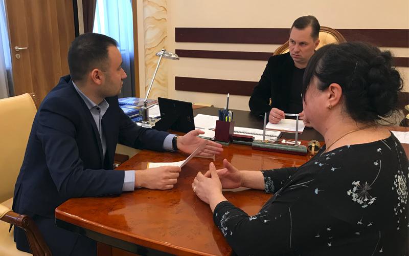 Фото: Личный прием у начальника ГУНП в Одесской области