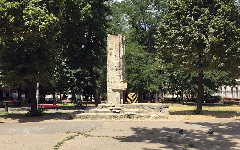 Фото: г. Одесса, сквер им. Томаса